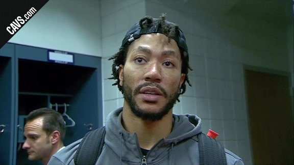 #CavsBucks Postgame: Derrick Rose - October 20, 2017