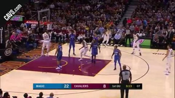 Featured Highlight: LeBron Throws Down the Hammer