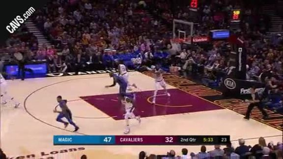 LBJ Drops a Long Dime to Love