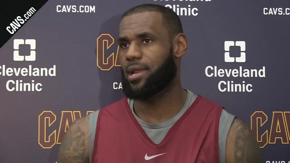 Practice: LeBron James - October 23, 2017