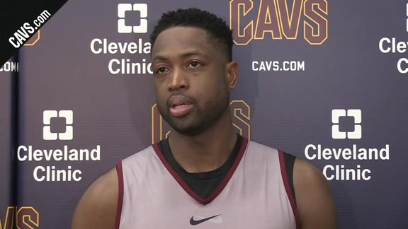Practice: Dwyane Wade - October 23, 2017