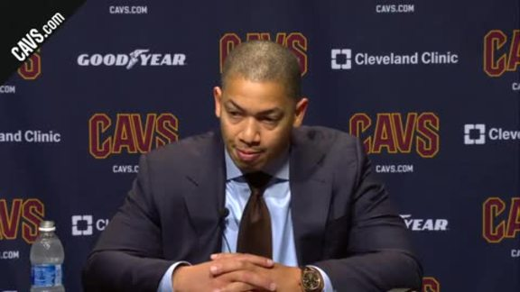 #CavsBulls Postgame: Coach Lue – October 24, 2017