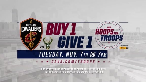 Hoops for Troops - Buy One, Give One