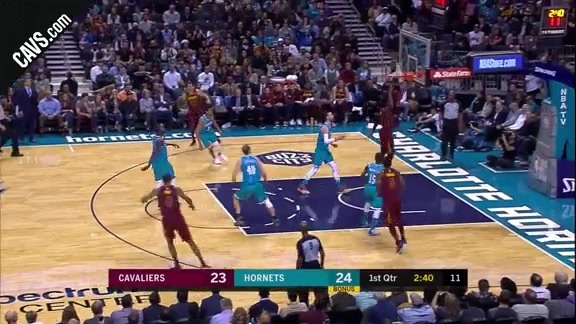 Jeff Green Slips for the Slam