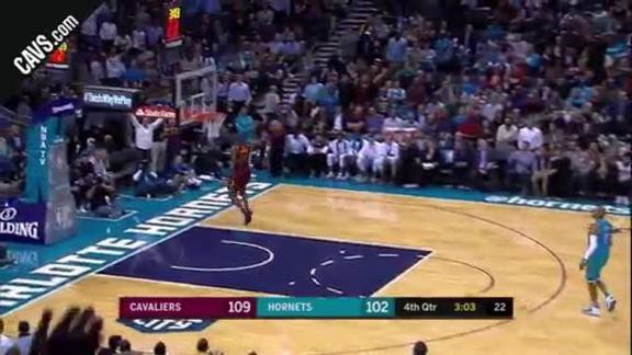 LBJ Steals and Soars for the Slam