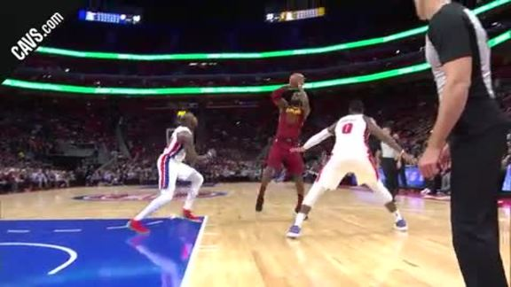 LBJ Cans the Fadeaway Jumper