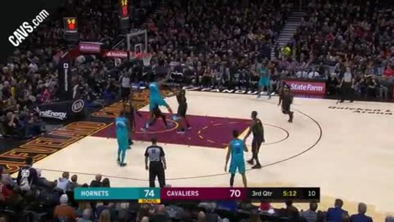 DWade Blocks Hornets' Lay Up Attempt