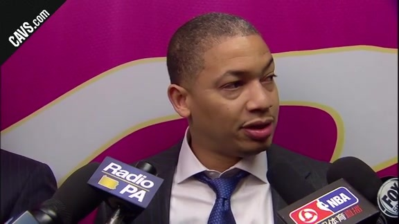 #CavsSixers Postgame: Coach Lue - November 27, 2017