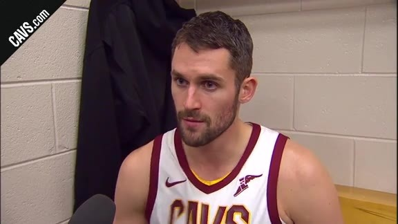 #CavsSixers Postgame: Kevin Love - November 27, 2017