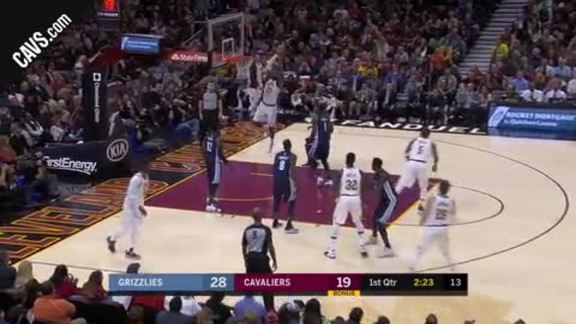 Featured Highlight: LeBron Throws Down