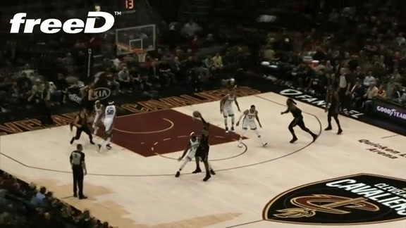 Highlight in FreeD: KLove Layup