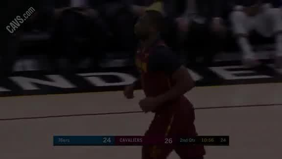 DWade Sneaks Behind Defense for Slick Bucket
