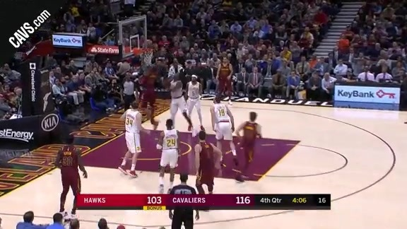 LBJ Rocks the Rim