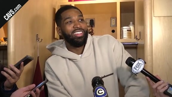 #CavsHawks Postgame: Tristan Thompson - December 12, 2017