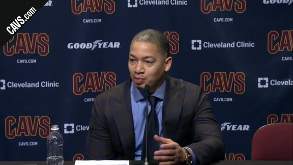 #CavsLakers Postgame: Coach Lue - December 14, 2017