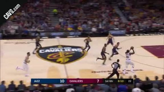 LBJ Drops Pretty Dime to Crowder