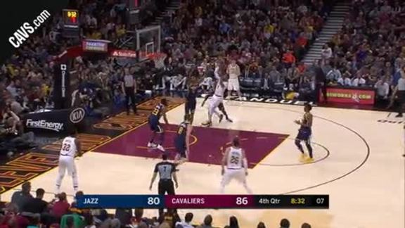 DWade Drives for a Quick Step-Back Shot