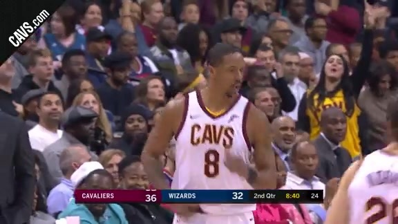 Cavs Heat Up From Downtown in the 2Q