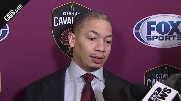#CavsWizards Postgame: Coach Lue - December 17, 2017