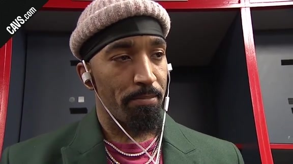 #CavsWizards Postgame: JR Smith - December 17, 2017