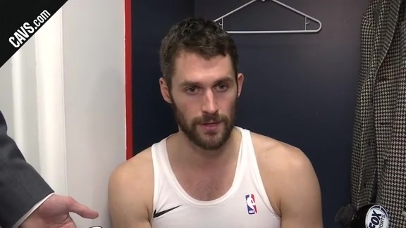#CavsWizards Postgame: Kevin Love - December 17, 2017