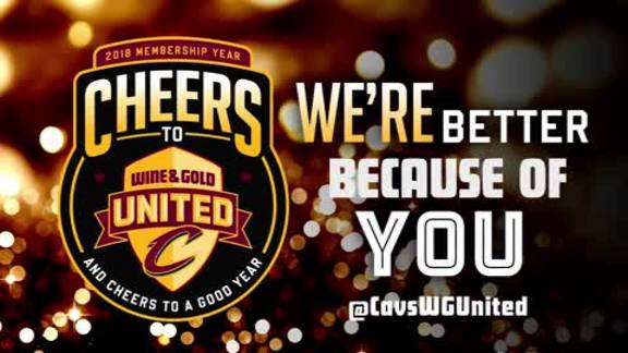 Cheers to Wine & Gold United