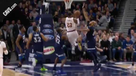 LBJ with the And-One