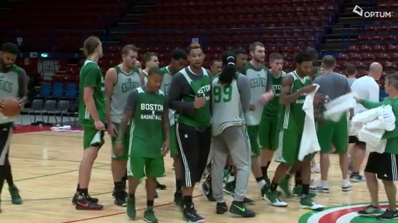 Celtics Ready For Olimpia Milano