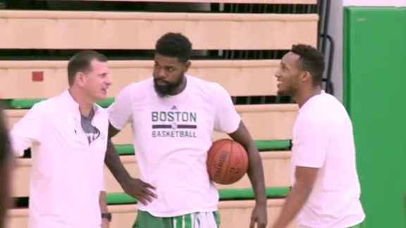10/13 Practice Report: Celtics Number One Focus Is On The Team