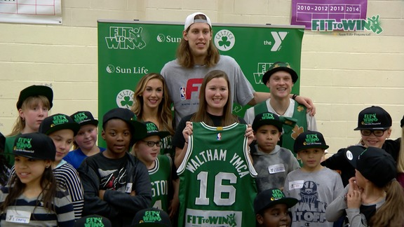 Olynyk Leads Fit to Win Event