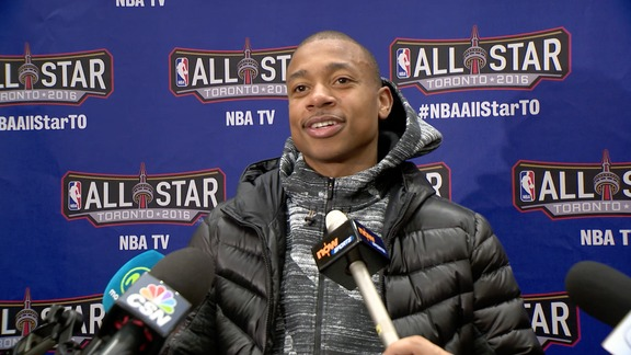 All-Star Media Availability: Isaiah Thomas