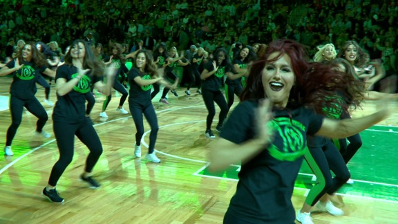 Celtics Dancers: A Decade of Dancing