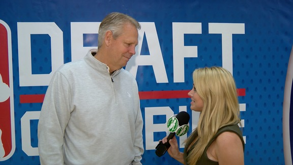 "Ainge at Combine: ""It's Exciting"""