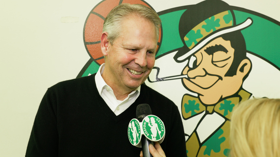 Ainge Reacts to No. 3 Pick