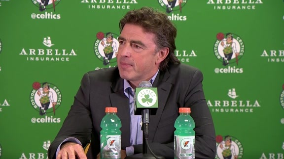 Wyc Grousbeck on No. 3 Pick Jaylen Brown