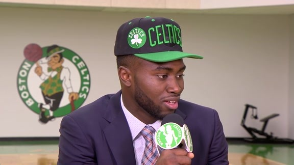 "Jaylen Brown: ""No One Works Harder"