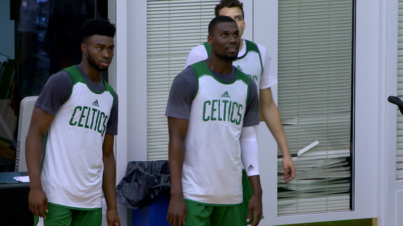 7/1 Summer League Practice: Eager to Play