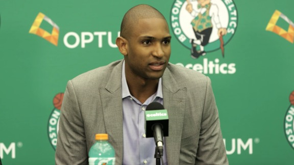 Horford Ready for New Transition