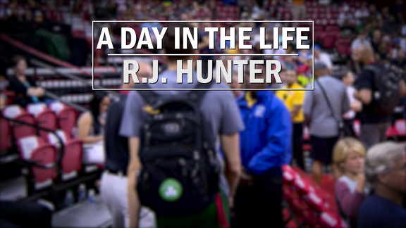 Day in the Life: R.J. Hunter