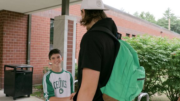 Olynyk Goes Back to School