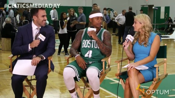 Media Day Interview: Isaiah Thomas