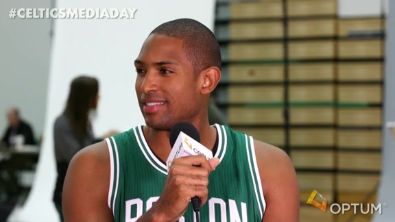 Media Day Interview: Al Horford