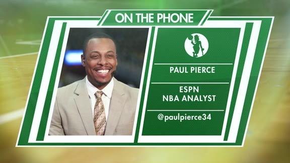 Pierce Talks Celtics on Conference Call