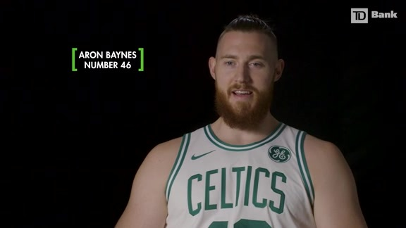 11/20 TD Bank Behind the Number: Aron Baynes