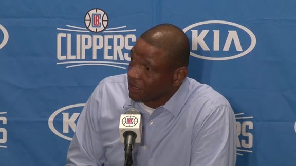 Pregame Press Conference: Doc Rivers | 10/02/15