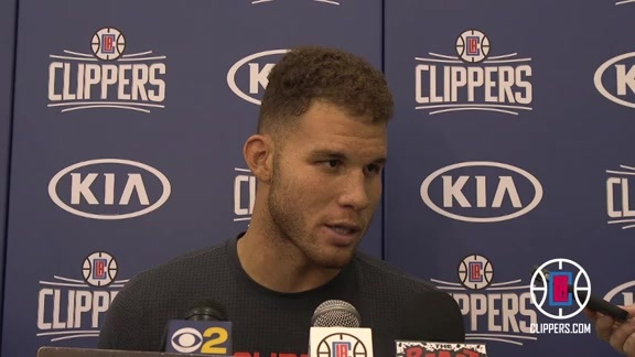 Preseason Interview: Blake Griffin | 10/6/15
