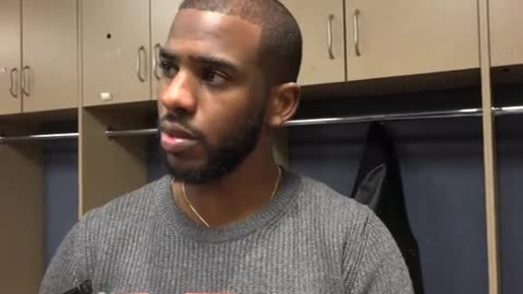 Postgame Press Conference: Chris Paul - 11/24/15