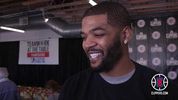 Josh Smith Talks About Thanksgiving