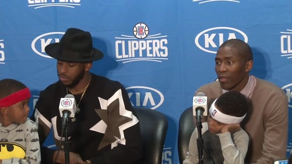 Postgame Press Conference: Chris Paul & Jamal Crawford – 11/27/15
