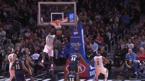 Highlights: Clippers vs. Pelicans - 11/27/15